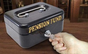 Steve Caplin Pension Fund Money Box