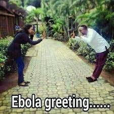 Ebola greeting