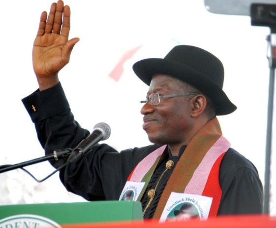 President Jonathan Declares