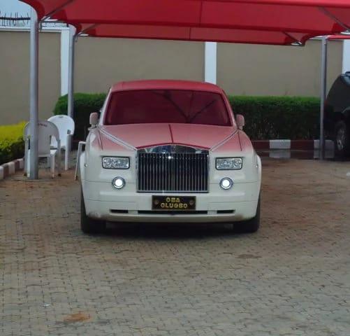 Oba Akinruntan Rolls Royce
