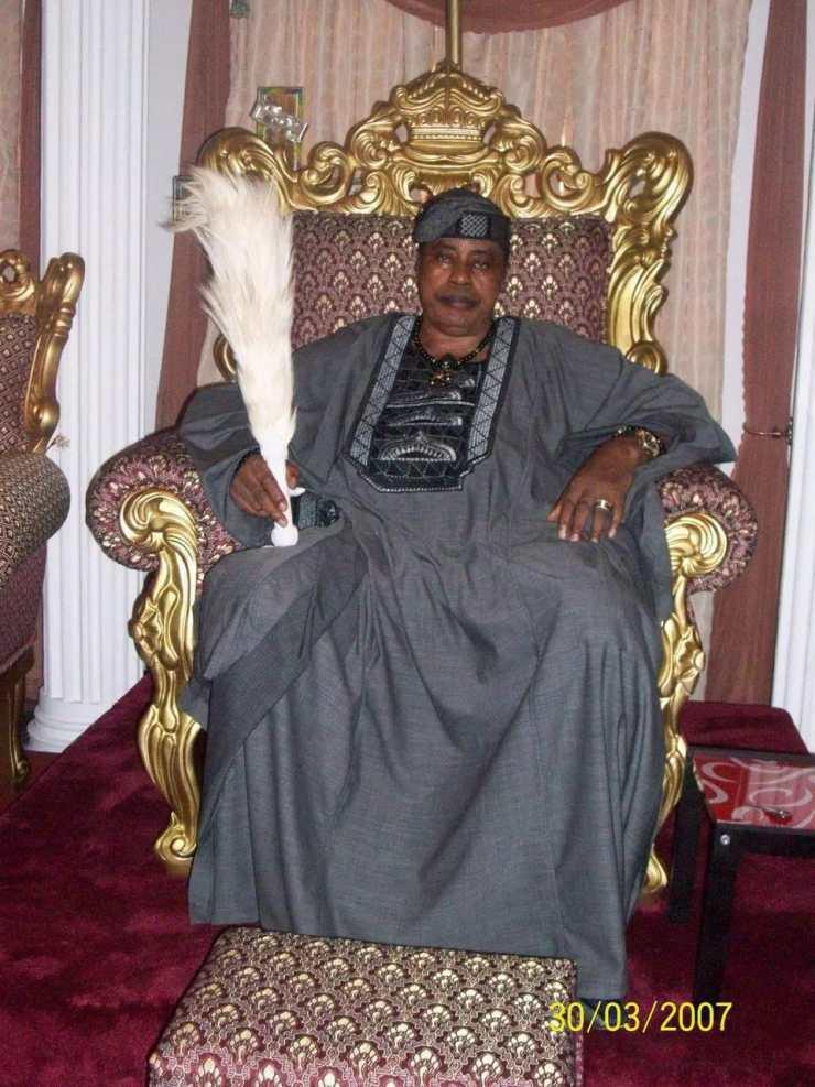 Image result for Oba Fredrick Obateru Akinruntan