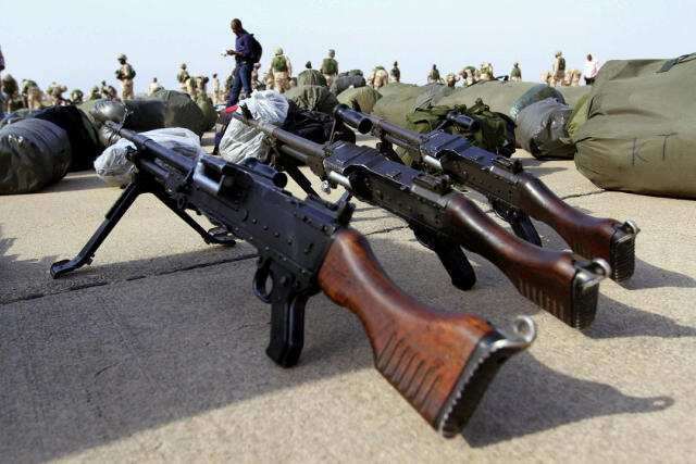 Nigeria Army Weapons