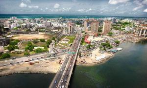 Lagos aerial view