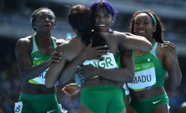 Nigeria women's relay team