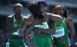 Nigeria women's relay team