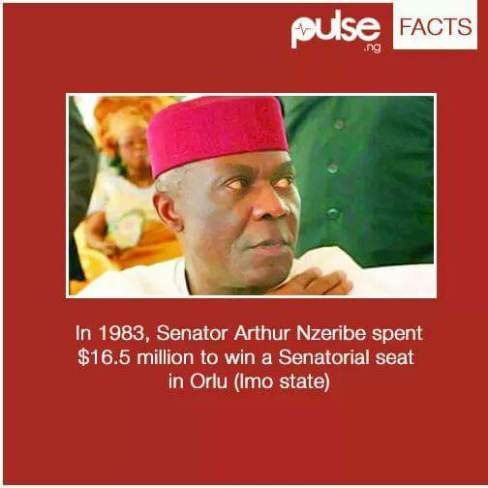 Image result for Senator Arthur Nzeribe 1983