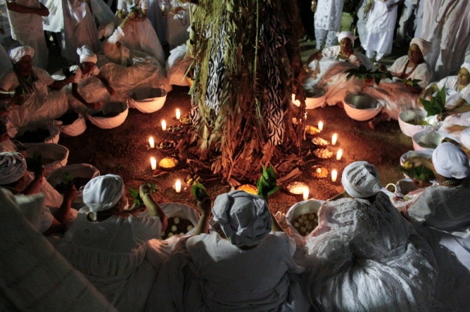 Image result for african traditional worshippers