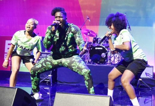 Image result for Tobe Nwigwe BET performance